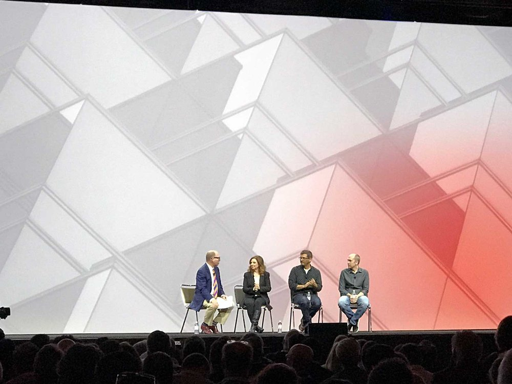 Michael Bierut Moderating Discussion at AIA 2017 Conference