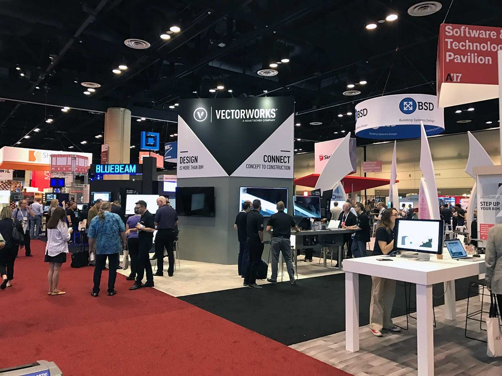 Vectorworks Booth