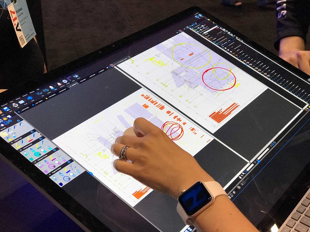 Using Bluebeam on a Surface Studio