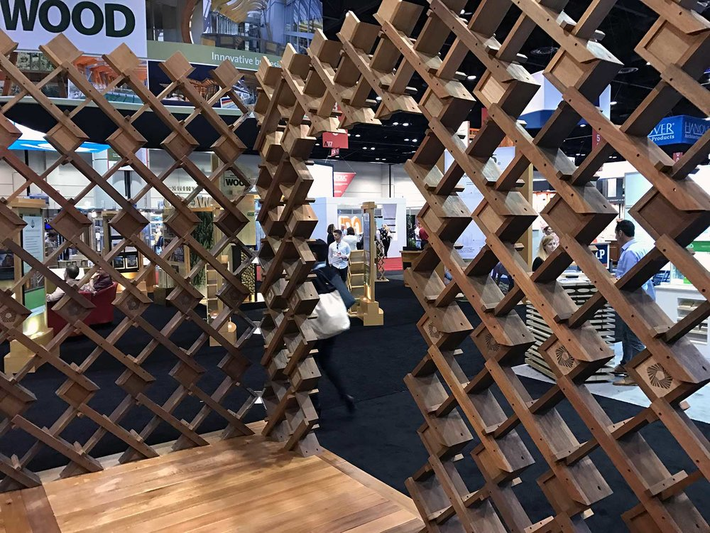 Malaysian Timber Council Booth at the AIA 2017 Expo