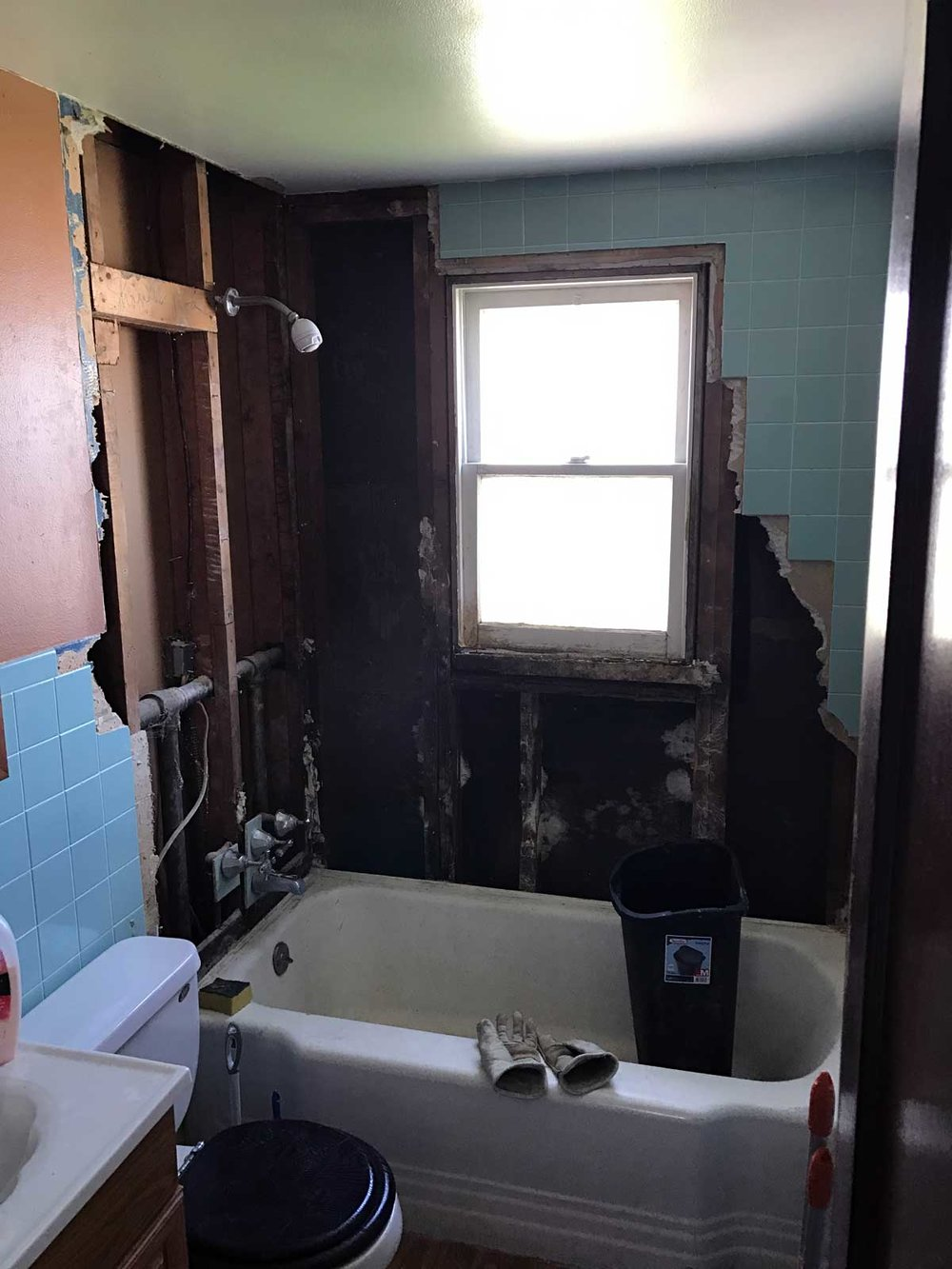 15 Day Bathroom Renovation Demolition 01