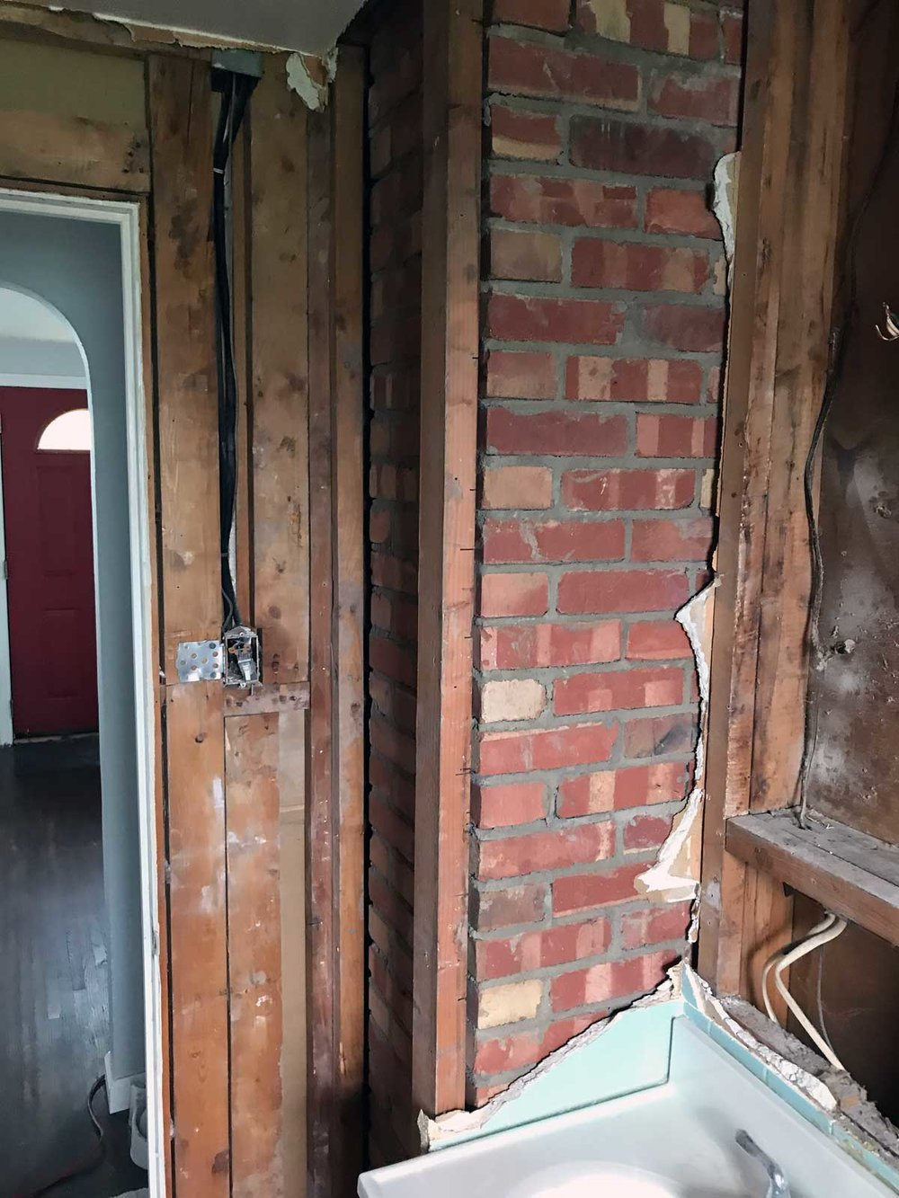 15 Day Bathroom Renovation Demolition 04