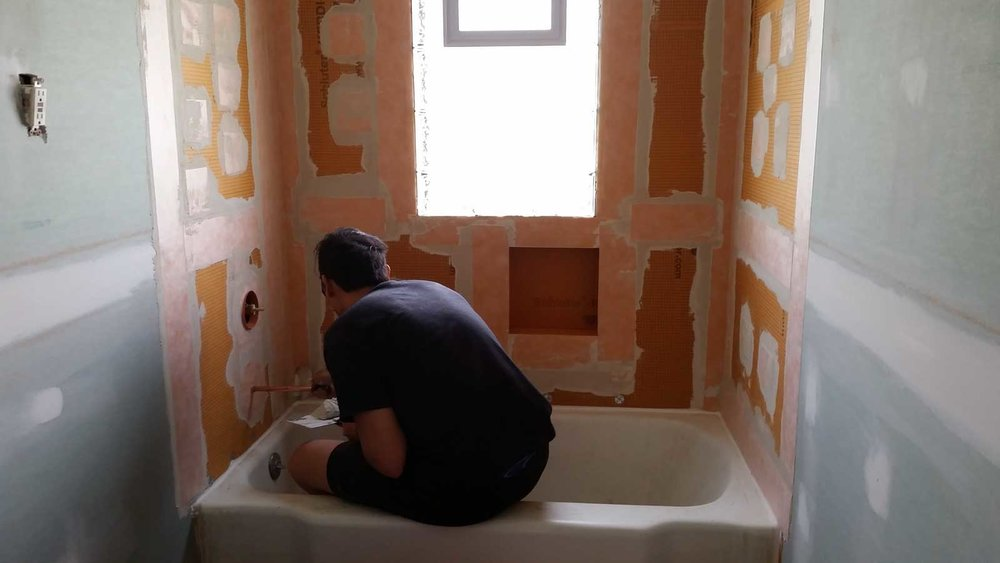 15 Day Bathroom Renovation Water Proofing 01