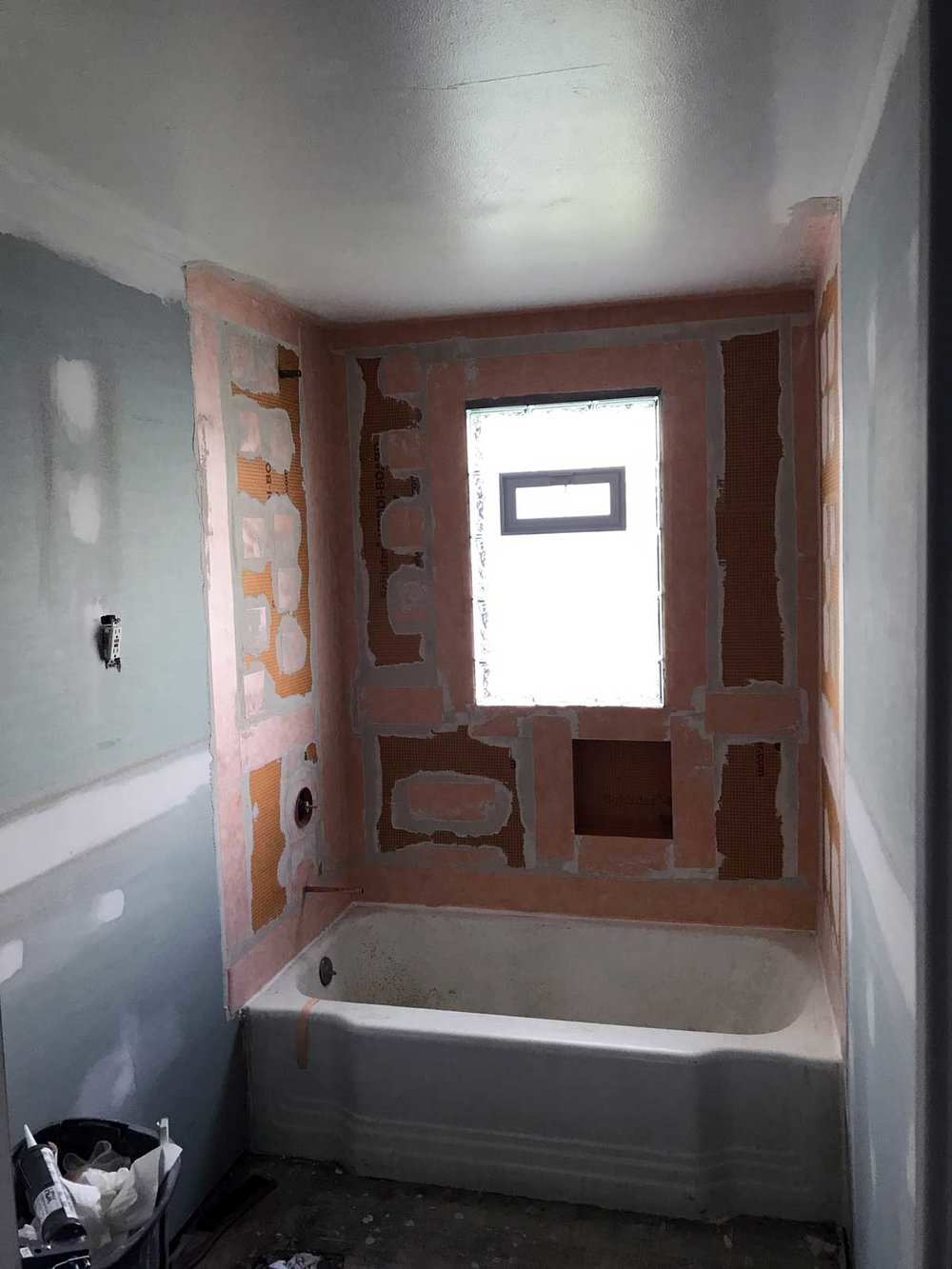 15 Day Bathroom Renovation Water Proofing 02