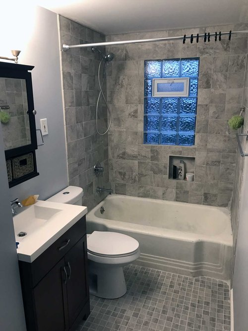 Day Full Bathroom Renovation Journey Of An Architect - Full bathroom renovation