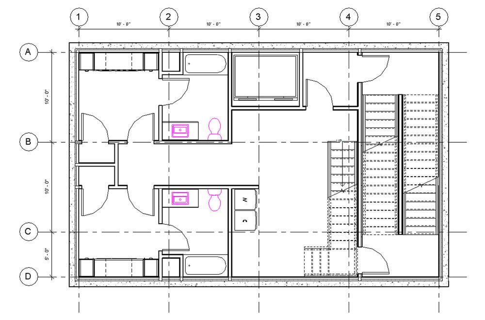 Micro Housing China Initial Floor Plan