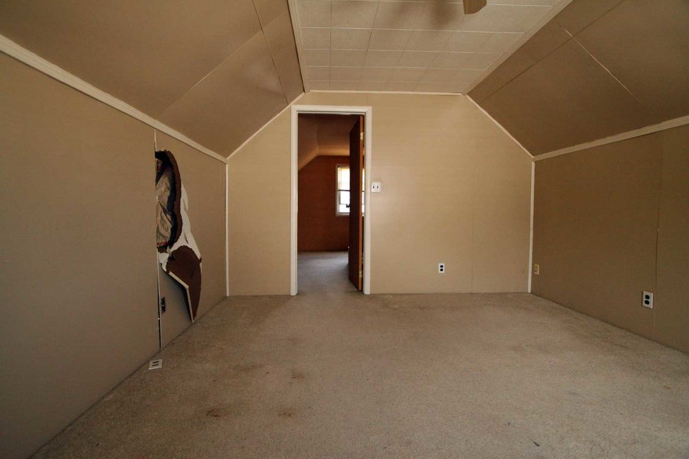 Attic Renovation View 2 before