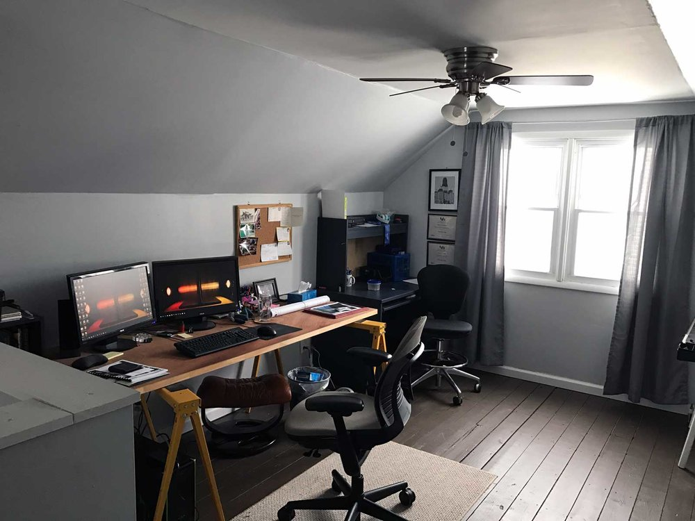 Home Renovation - Attic Studio