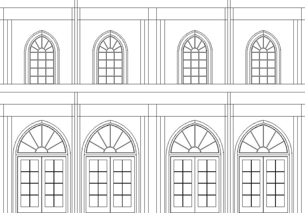 Sky Mausoleum Facade Design