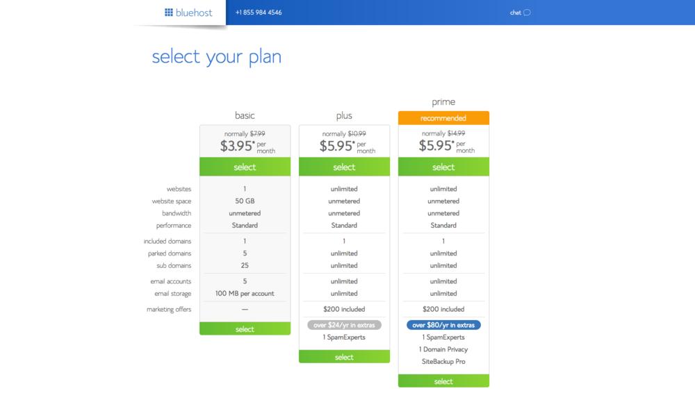 2 Select Plan