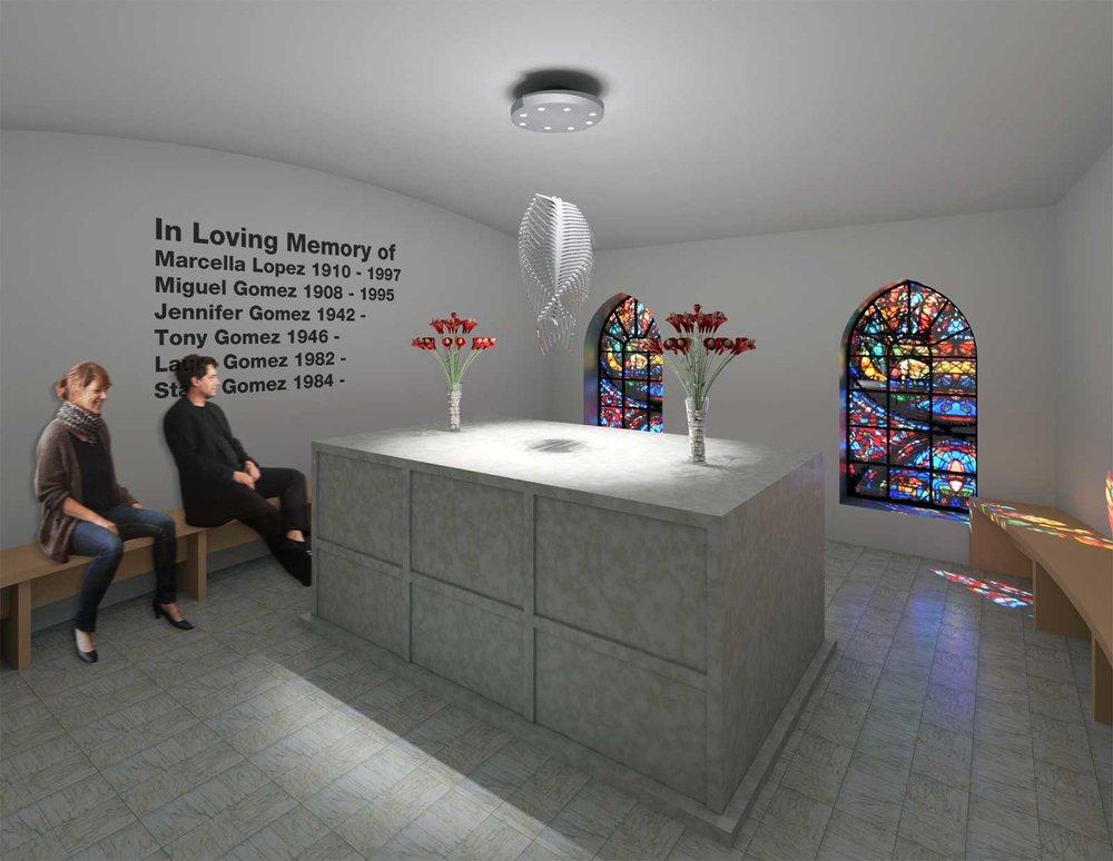 Sky Mausoleum Interior