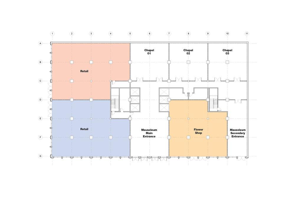 Sky Mausoleum First Floor Plan