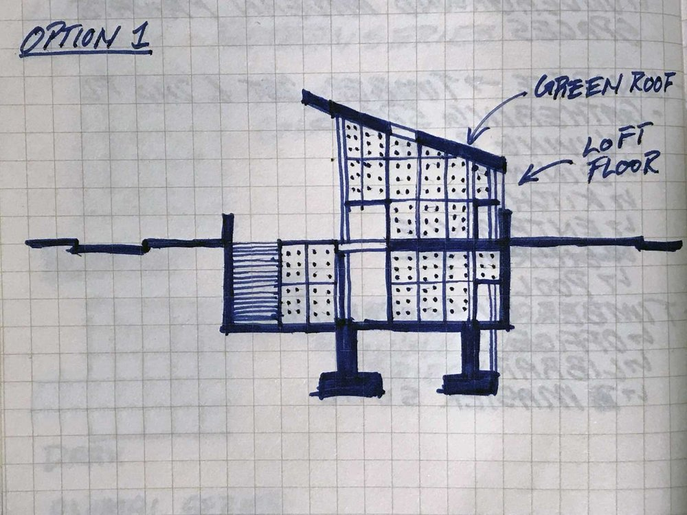 Initial Design Ideas for a High End Residence