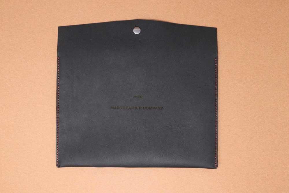 Leather iPad Sleeve Prototype 1