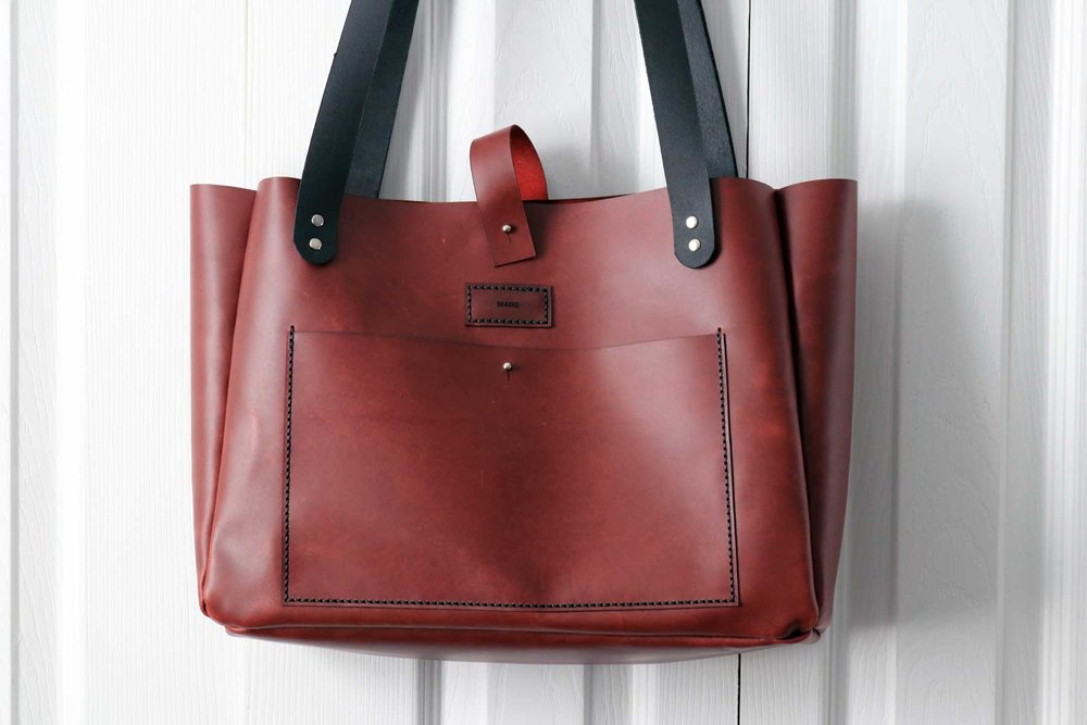 Leather Tote Bag V1