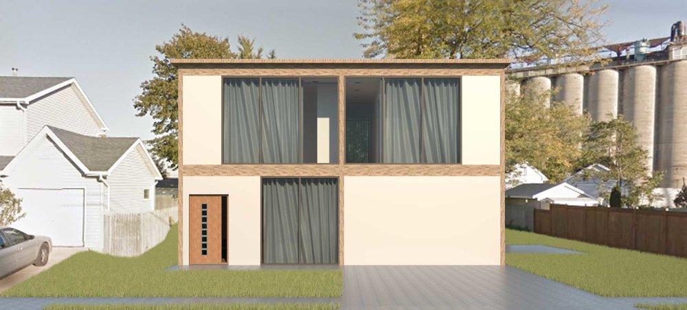 28x30 - 21st Century Kit House