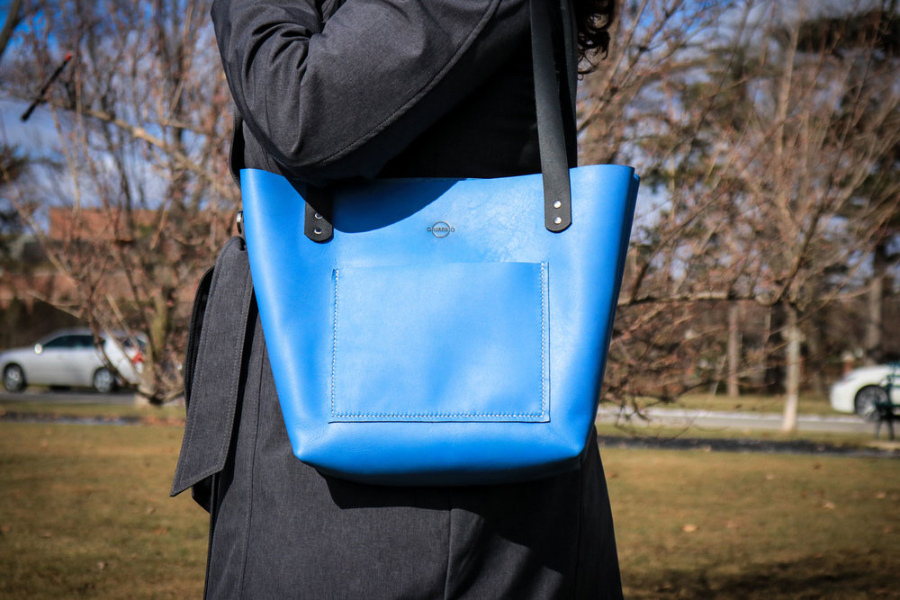 Finished Leather Tote Bag