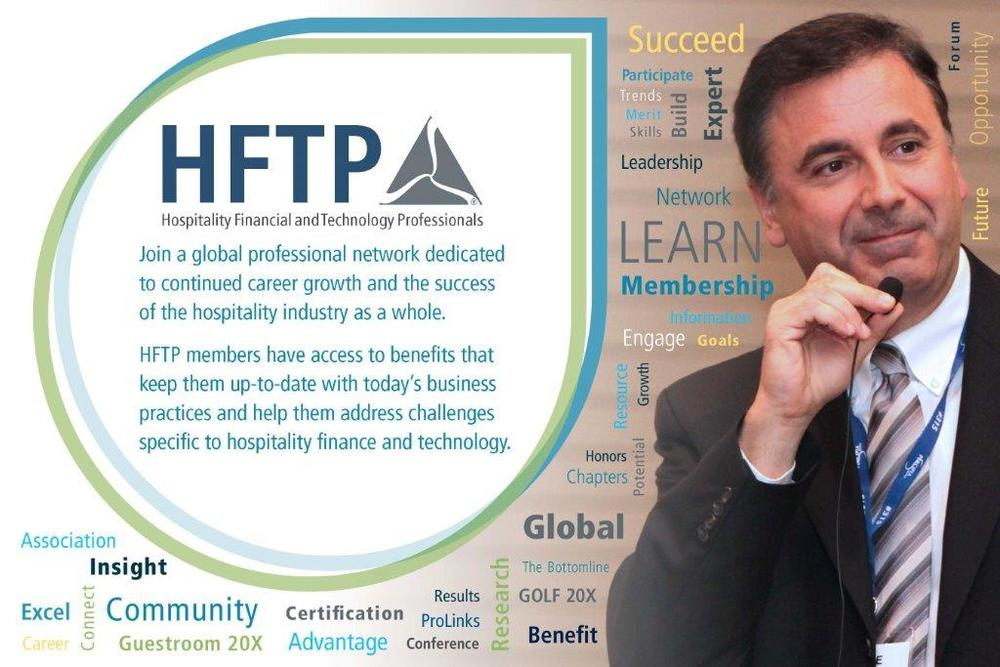 G  eorge presents at the National HFTP Annual Conference
