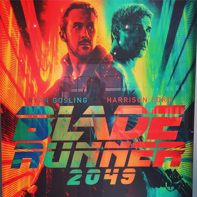 Just came back from a 2 hour and 40 minute trip in the future. WOW visually stunning and the story continued a lot of the great themes and questions from the previous film. pacing was a bit slow. Film makers could have trimmed 25 minutes. Overall a great sequel that really pushed the envelope of the Blade Runner series... #bladerunner #bladerunner2049 #ryangosling #harrisonford #ridleyscott #future #denisvilleneuve