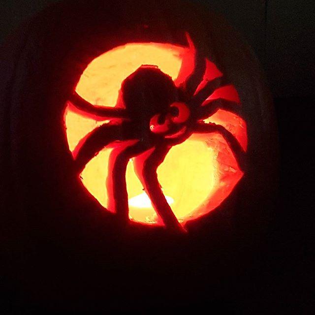 Happy Halloween! #spider #Halloween