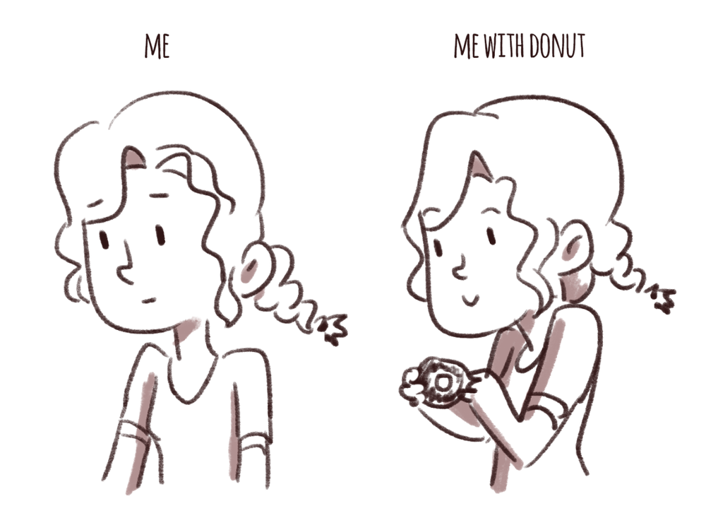 #359 me with donut (someone get me a donut)