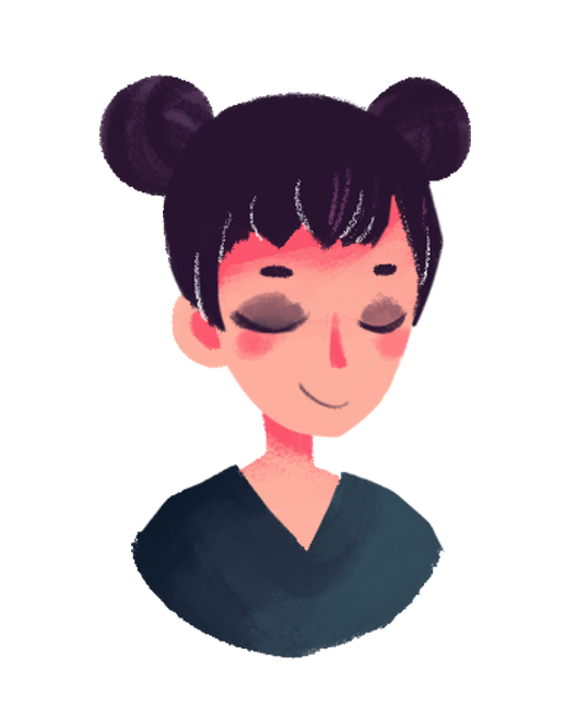 #321 lil portrait inspired by @MarukiHurakami