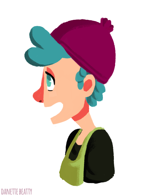#265 is a girl I'm attempting to animate