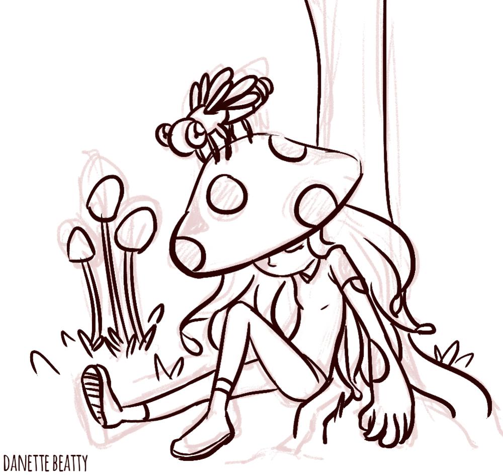 #241 is a mushroom gal