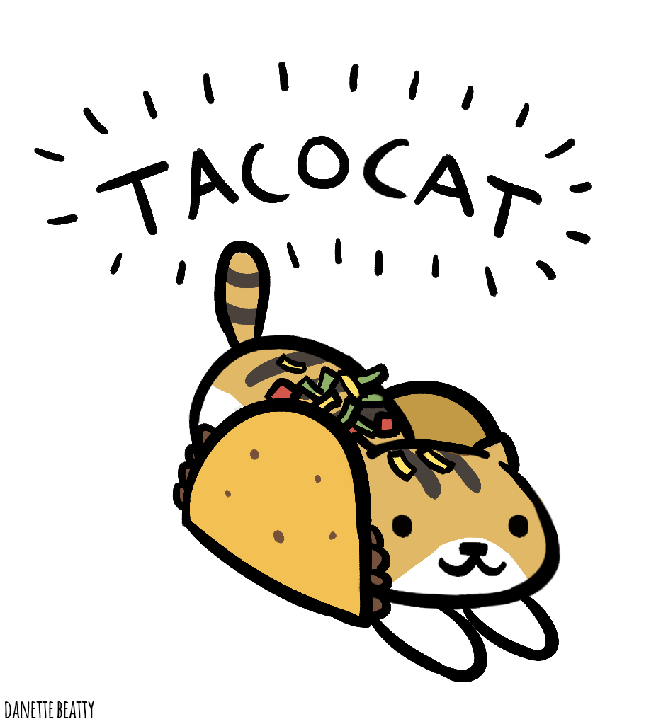 #238 is Tacocat, which spelled backwards is tacocat