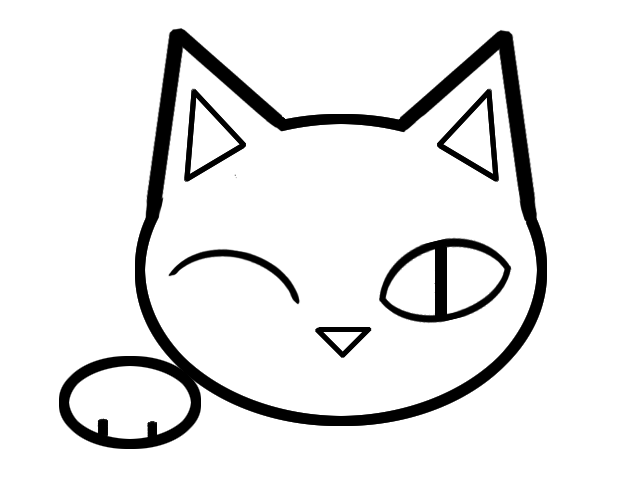 #223 is a logo for a cat brothel