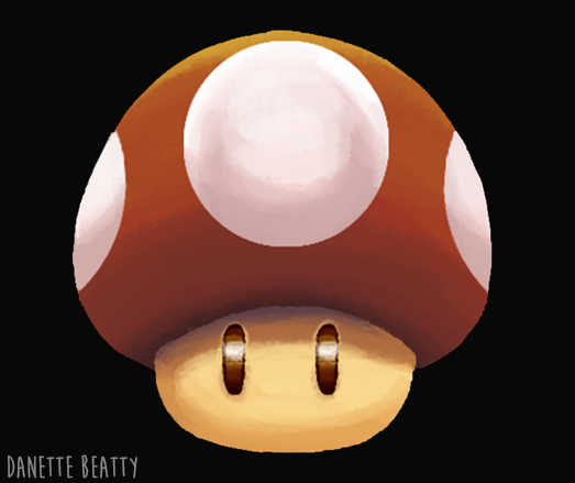 #169 is a little Mario mushroom :D