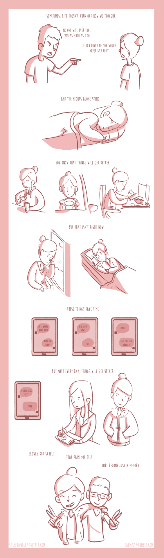 #141 is a comic about life and stuff