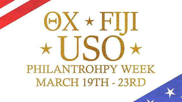 Head on over to our Facebook page to get details about our upcoming Philanthropy Week with @uab.thetachi for @theuso ! We're excited for this joint effort to raise money for an organization that supports our troops and their families! #ForTheTroops