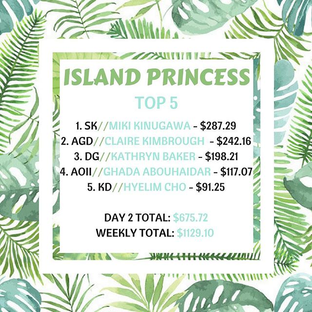 Day 2 of FIJI Island Week and these ladies have seas the day! So far we have raised $1129 for the American Cancer Society! Let's keep the momentum going; when there's a will, there's a wave 🌊😎#keepittropical