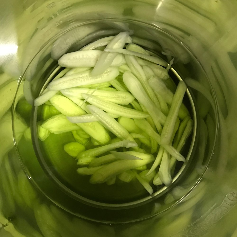 Made from real peeled cucumbers that are infused in a high proof vodka to pull out all of those fresh and wonderful flavors.