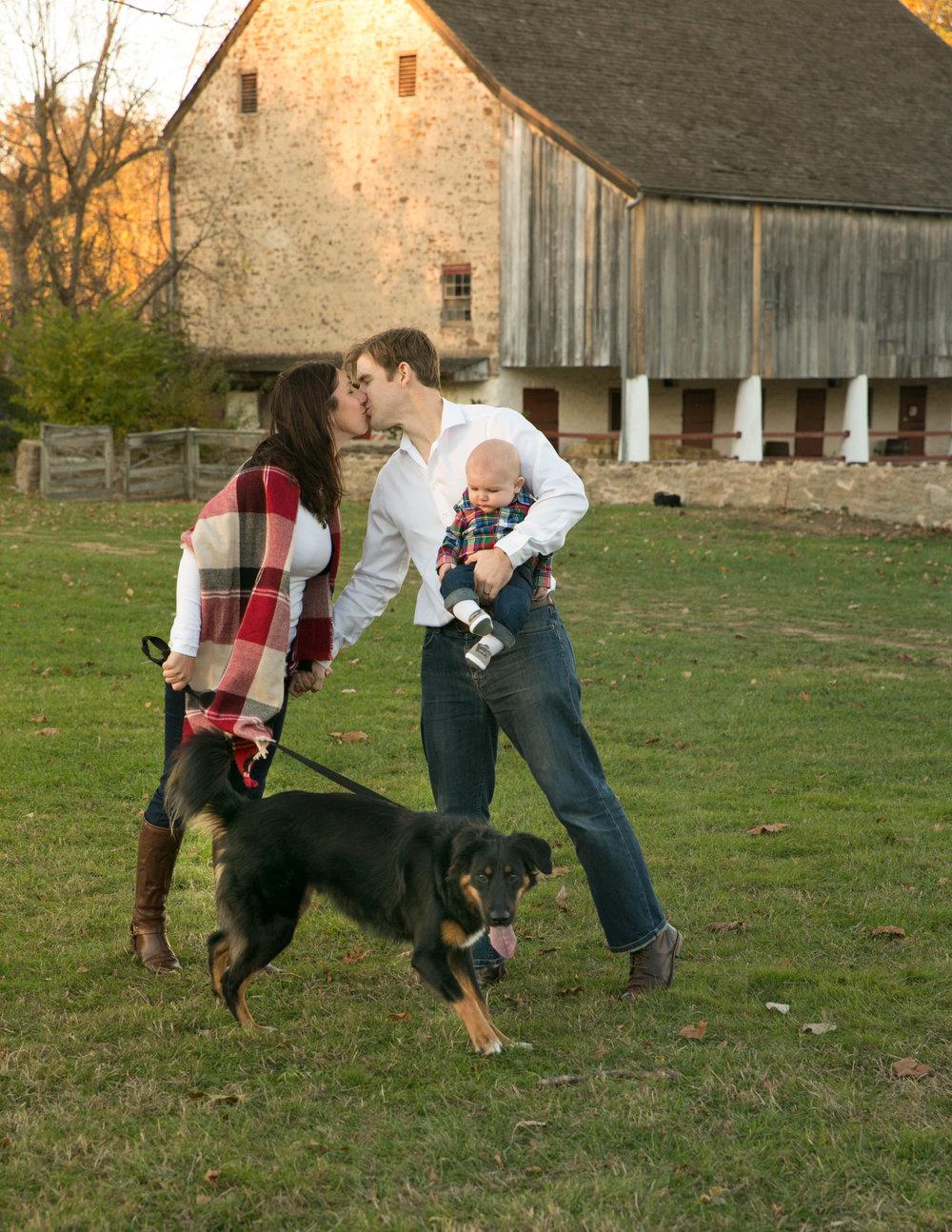 Graeme Park, Horsham, PA, Family Portrait with Dog20161106Baltimore, Maryland_Jewish Engagement Party_Tani and Jordy0215.jpg