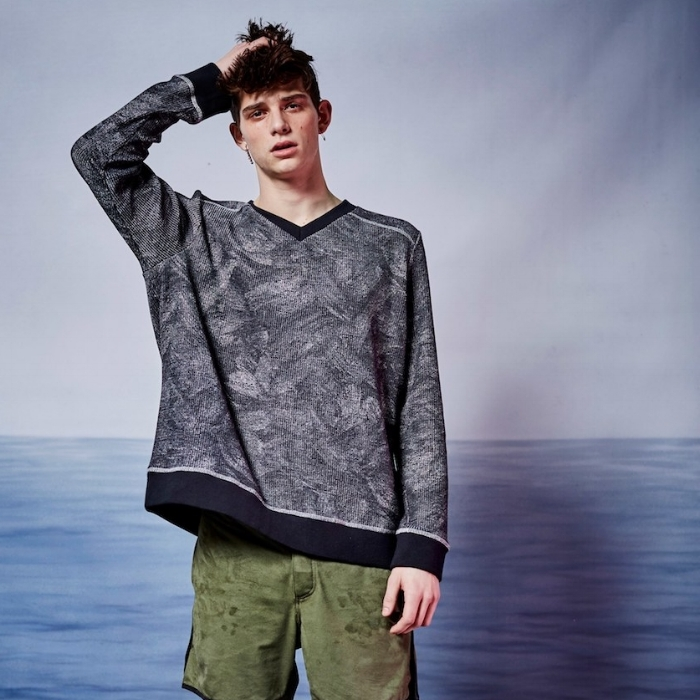 TEXTURED KNITS -