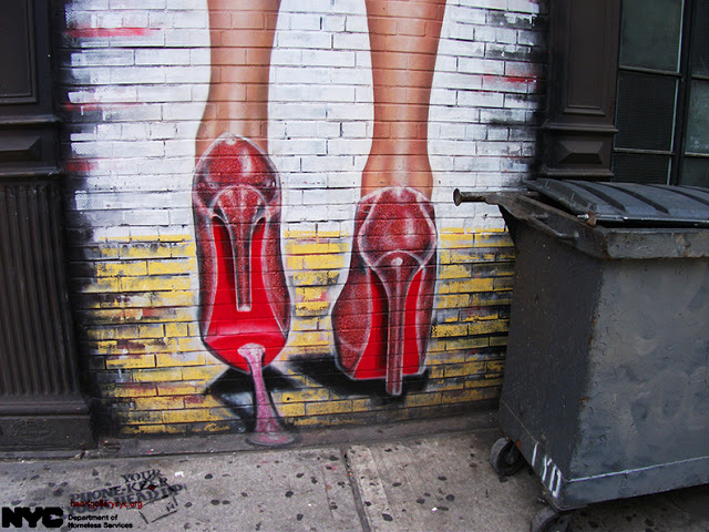 A New York Mural - by Mary, 2015
