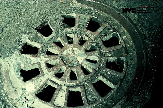 Manhole - by Janet, 2015