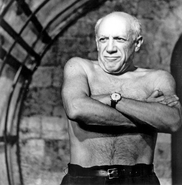 Pablo Picasso takes a stand