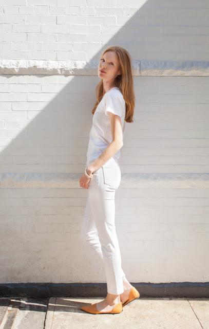 White-on-white. Shot by Matt Hillman