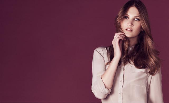 Model on-set for Fashion Shoot, New York City