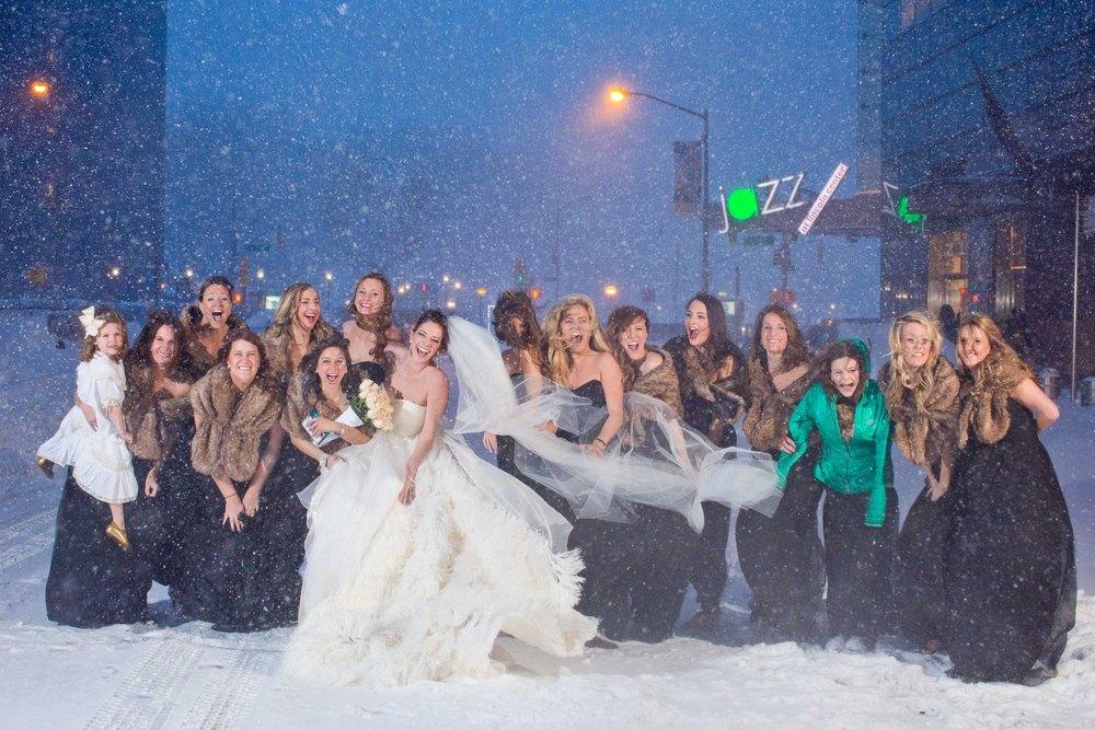 White on white - Amanda Mott's wedding party - Terry Gruber, Wedding Photographer