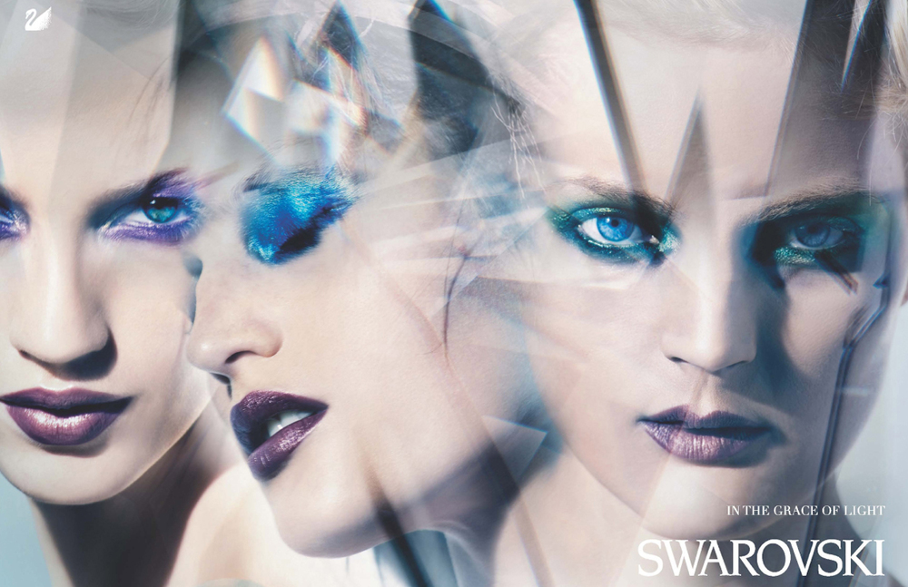 Swarovski - Creative Director: Olivier Rose Van Doorne, Photographer: Craig McDean
