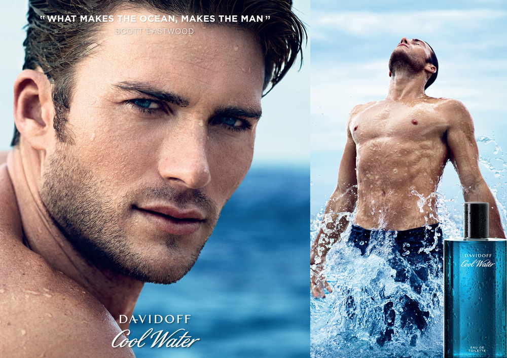 Cool Water for Davidoff - Creative Director: Olivier Rose Van Doorne, Photographer: Nathaniel Goldberg