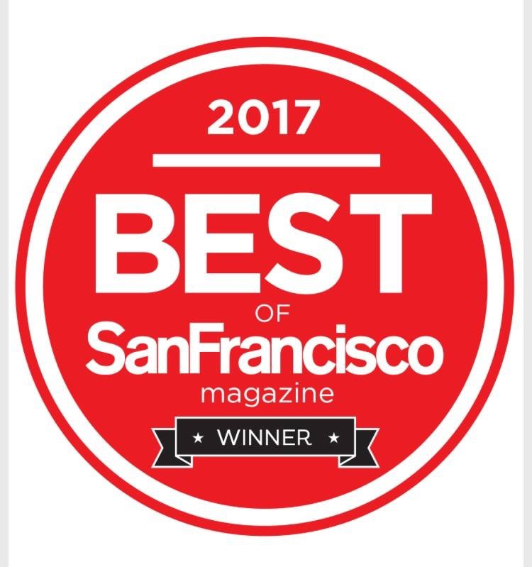 Best of the Bay, San Francisco Magazine.