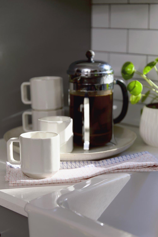 CONVIVIAL -  Riveted Mugs