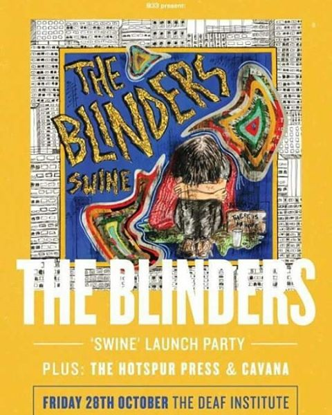 AWESOME NEWS. We'll be providing main support for The Blinders at The Deaf Institute on Friday 28th October.  It's a big deal for us. Over the years, we've seen loads of our favourite bands play in this venue, and they've never let us take the stage there before. Until now.  So basically, we can't wait. Please be there and make us even happier, and we'll all be happy together.  You can find a ticket link over on our FB page.  Much Love, THP x