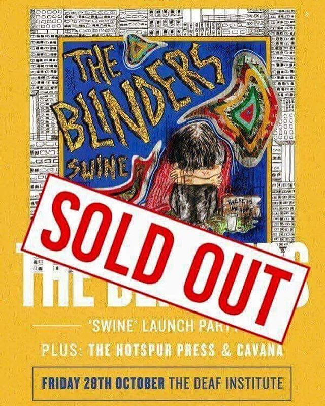 OH MY CHRIST! The show tomorrow at the Deaf Institute has totally sold out, which means it's 100% guaranteed to be a massive night!!! Can't wait to see y'all there. #soldout #gig #thedeafinstitute