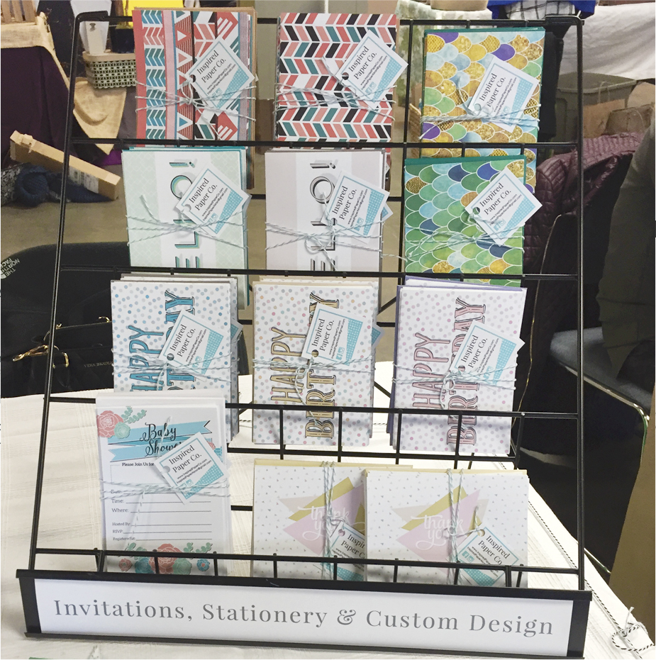 Greeting Cards from Inspired Paper Co